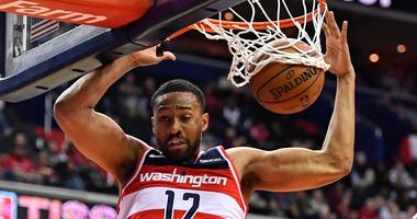 Wizards forward Jabari Parker