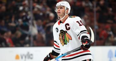 Blackhawks center Jonathan Toews