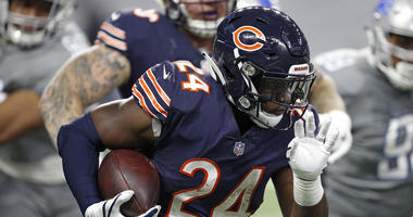 Bears running back Jordan Howard