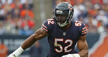 Bears outside linebacker Khalil Mack
