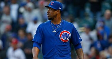 Cubs reliever Pedro Strop