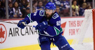 Canucks forward Sam Gagner