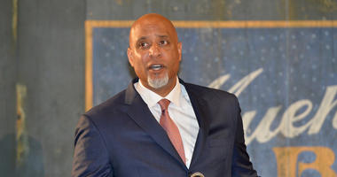 Major League Baseball Players Association executive director Tony Clark