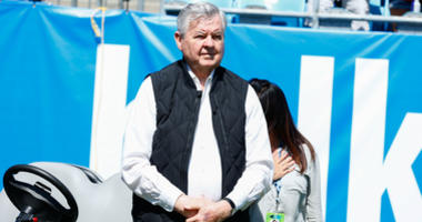 Former Panthers owner Jerry Richardson