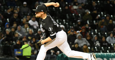 White Sox right-hander Danny Farquhar