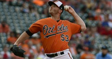 Orioles reliever Zach Britton