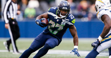 Mike Davis, then with the Seahawks