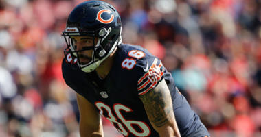 Bears tight end Zach Miller