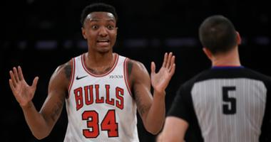 Bulls center Wendell Carter Jr.