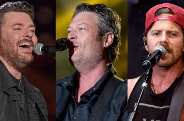 Chris Young, Blake Shelton & Kip Moore