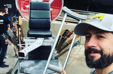 Matthew Ramsey's Dave Grohl Chair