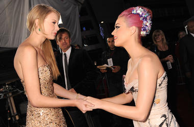 Katy and Taylor