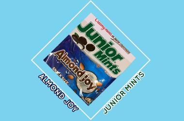 Almond Joy vs Junior Mints
