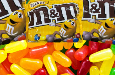 Mike and Ike's vs Peanut M&Ms