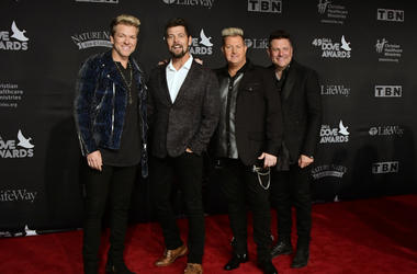 Gary LeVox, Jay DeMarcus, Joe Don Rooney, Rascal Flatts, Jason Crabb
