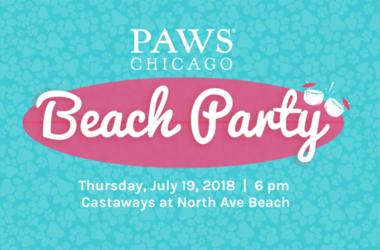 Paws Chicago Beach Party 2018