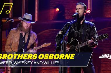 Brothers Osborne: Weed, Whiskey and Willie