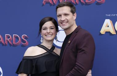 Walker Hayes & his wife Laney