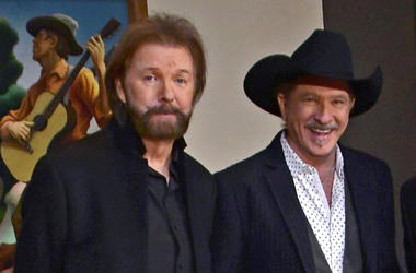 Brooks & Dunn after the CMA announced their induction into the Country Music Hall of Fame.