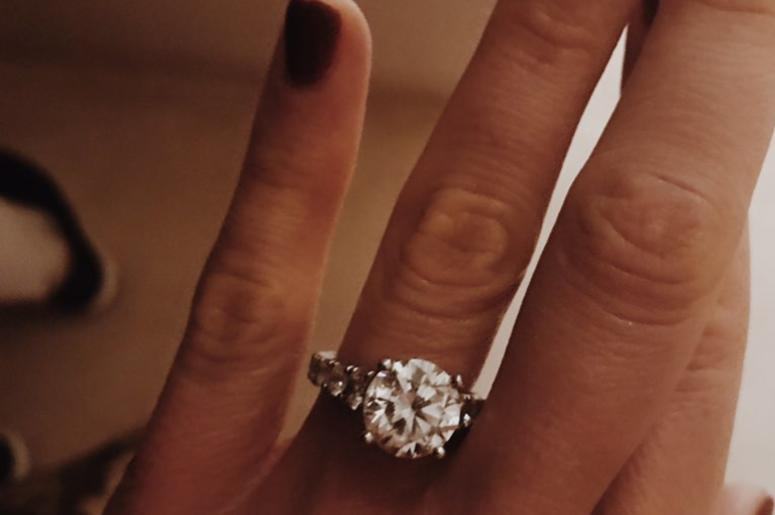 Carly Pearce's engagement ring