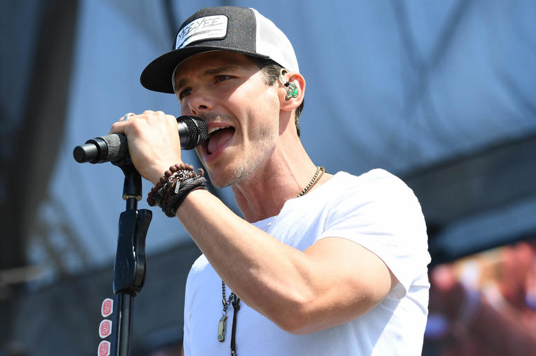 Recording artist Granger Smith performs at the Tortuga Music Festival