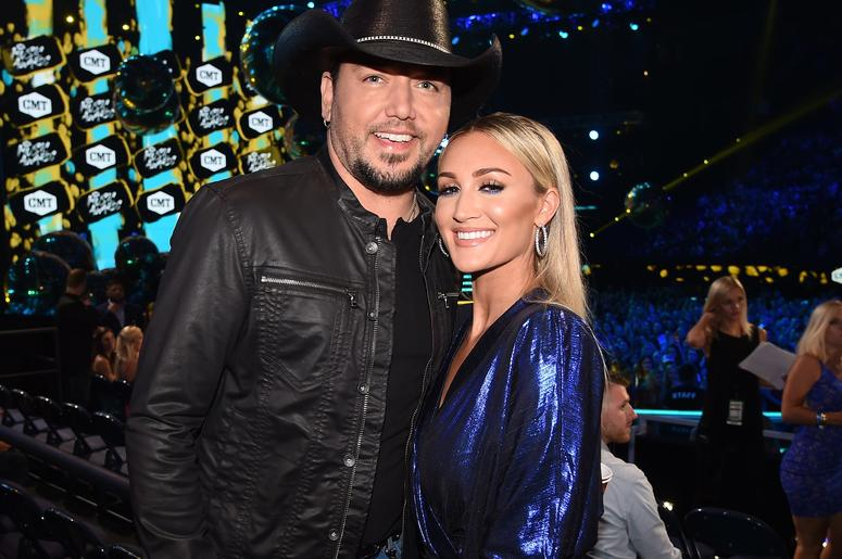 Jason Aldean & Brittany Aldean at the 2018 CMT Music Awards