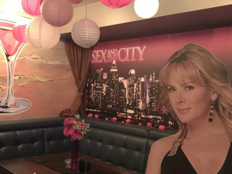 Sex in the City Pop-up Bar