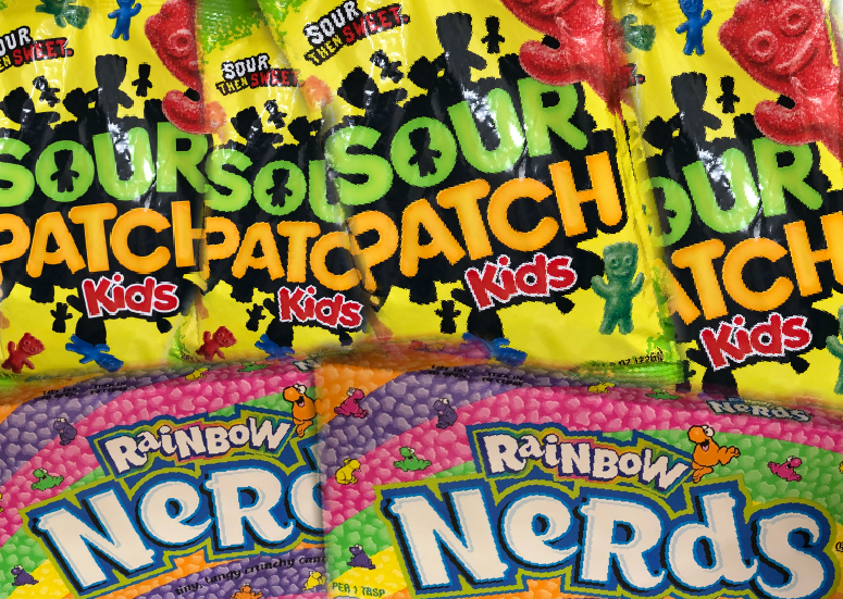 Sour Patch Kids vs Nerds