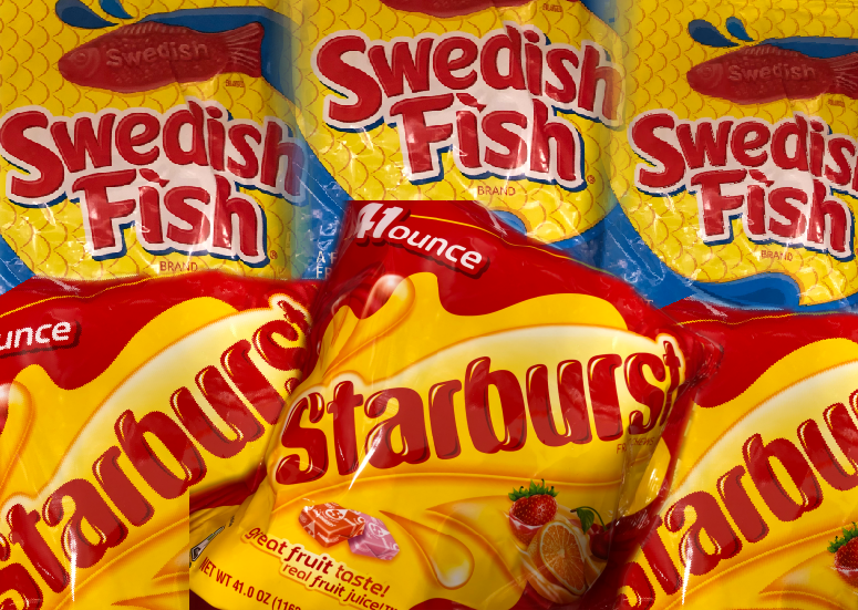 Starburst vs Swedish Fish