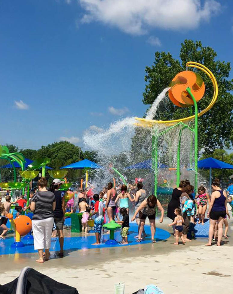 Sterling Heights Dodge U003eu003e Sterling Heightsu0027 Dodge Park Reopens Splash Pad,  Farmers Market