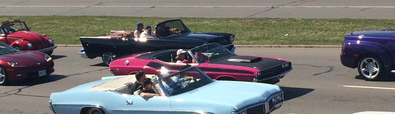 24th Annual Woodward Dream Cruise Off To A Roaring Start