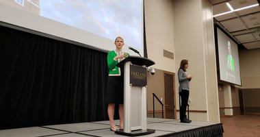 Elizabeth Smart Shares Story At Oakland University