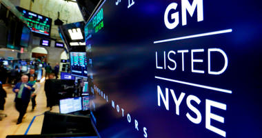 General Motors on stock exchange