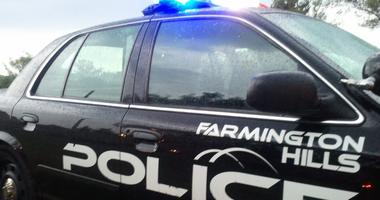 Farmington Hills Police Car