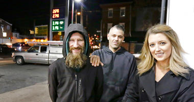 homeless man charged