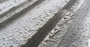 snow slush roads tire tracks