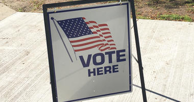 vote here election polling place
