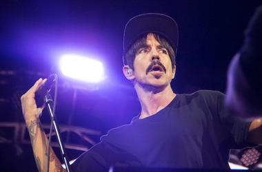 Red Hot Chili Peppers Anthony Kiedis