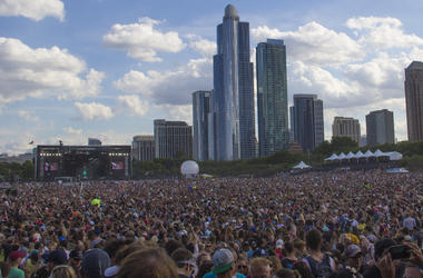 Lollapalooza Crowd
