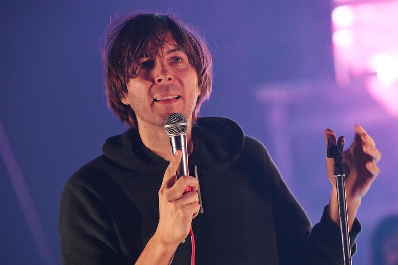May 11, 2017; Miami Beach, FL, USA; Recording artist Thomas Mars of the band Phoenix performs at the Fillmore. Mandatory Credit: Ron Elkman/USA TODAY NETWORK