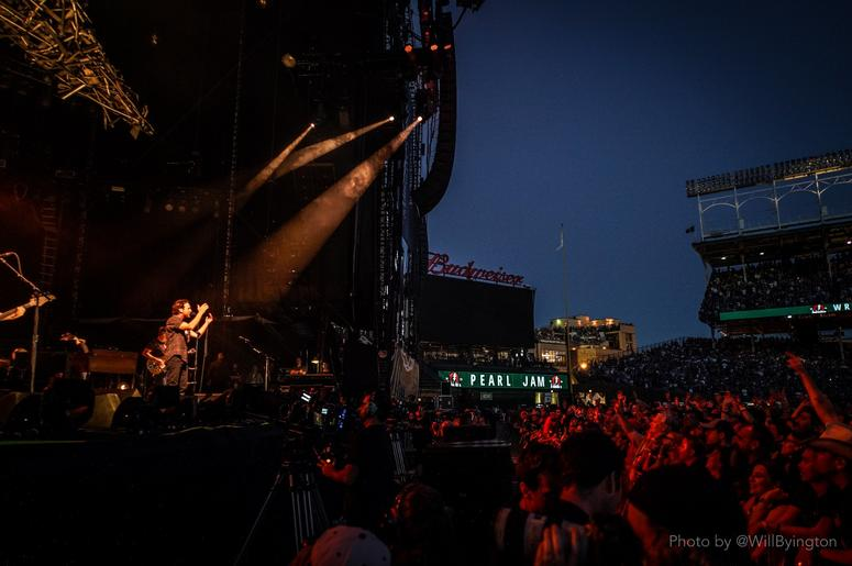Pearl Jam At Wrigley Field