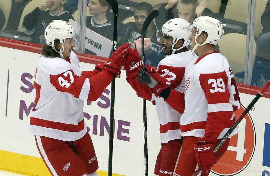Red Wings Give Sticks To Young Fan, Wait Till You See What He Does Next