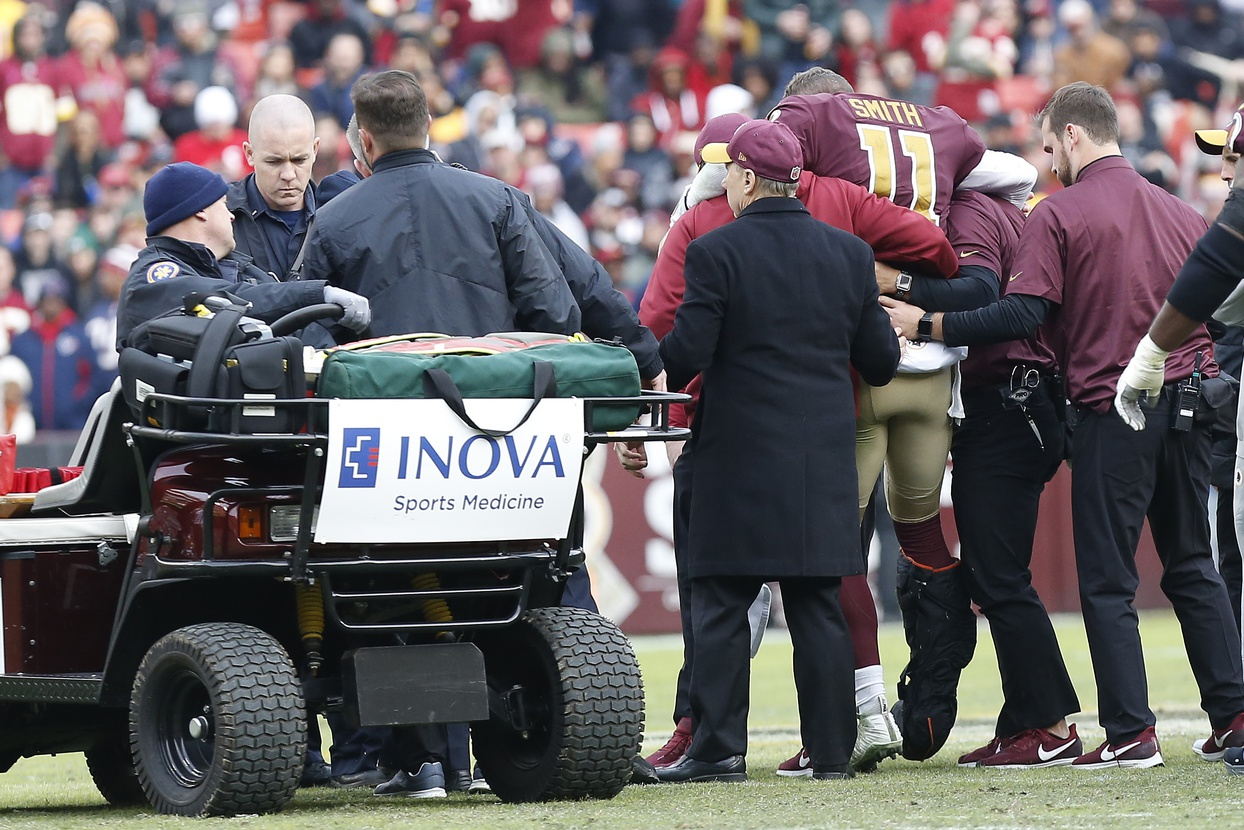 20ddea05 Redskins Ask For Privacy Amid Reports Of Smith Complications | 97.1 The  Ticket