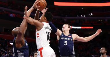 Pistons Lose Final Home Game 108-98 To Raptors