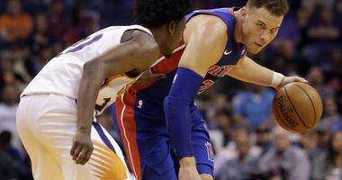 Blake Griffin Sidelined With Bone Bruise