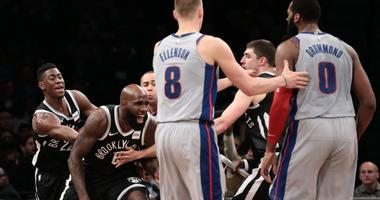 Brooklyn's Acy And Detroit's Drummond Fined
