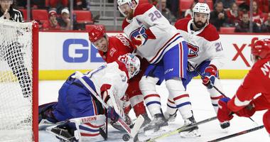 Deslauriers Scores 2 To Help Canadiens Beat Red Wings 4-3