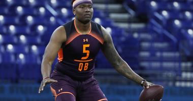 Mock Draft Has The Lions Trading Up For Dwayne Haskins