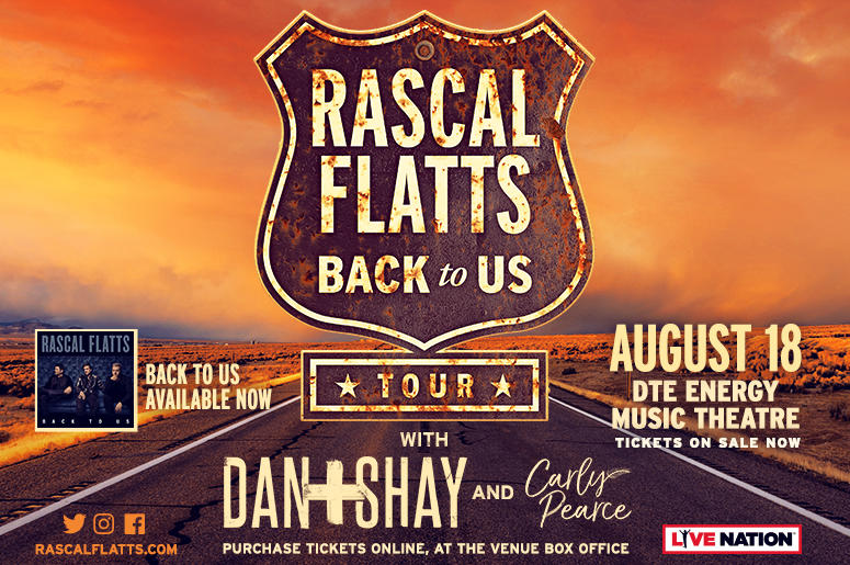 Rascal Flatts On Sale Now