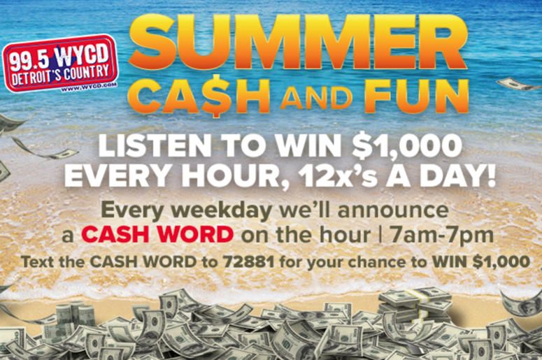 WYCD Summer Cash and Fun